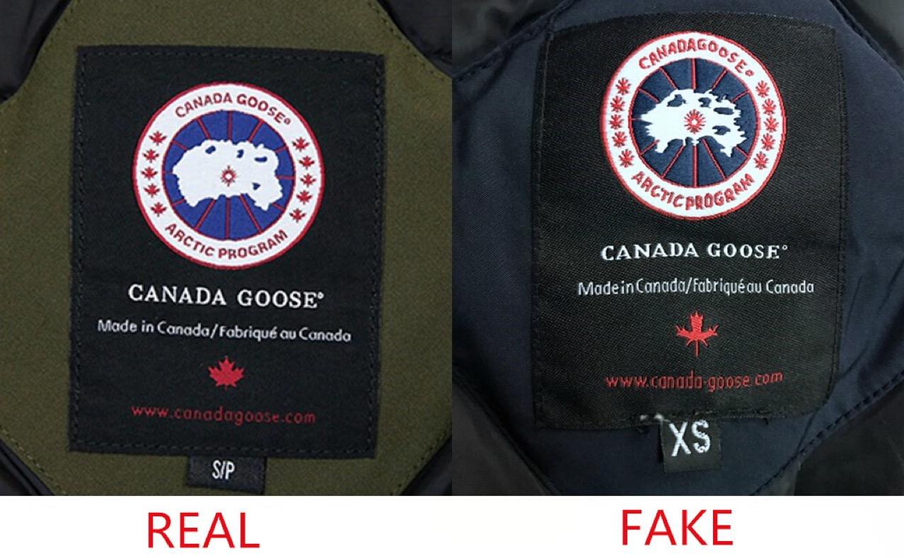 How To Spot Replica Amp Fake Canada Goose Parka