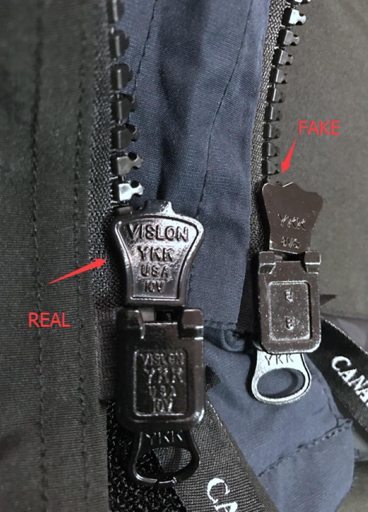 Gear Puller Toronto : Canada goose zipper puller