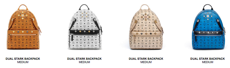 Within The Stark Backpack Lines There Are Also Diffe Designs Utilizing Canvas In Colours E G Beige Black White Cognac
