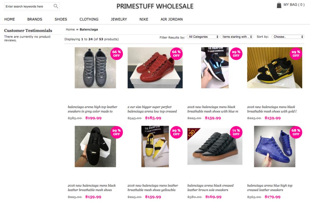 Cheap Replica Balenciaga Sneakers