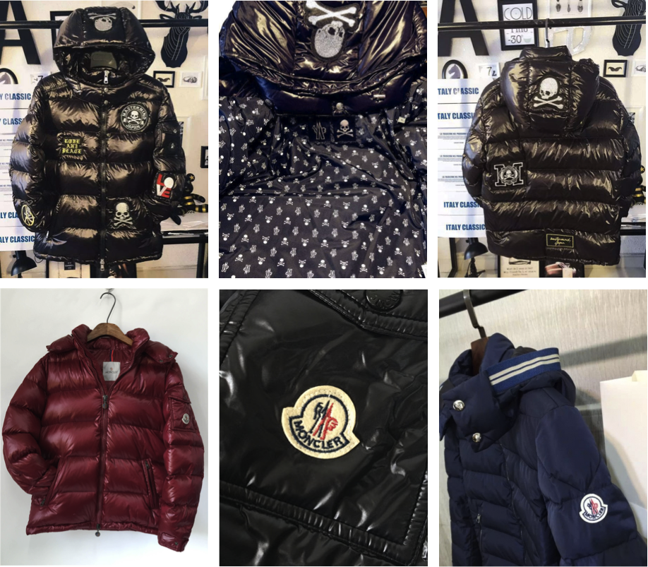 blue moncler jacket replica