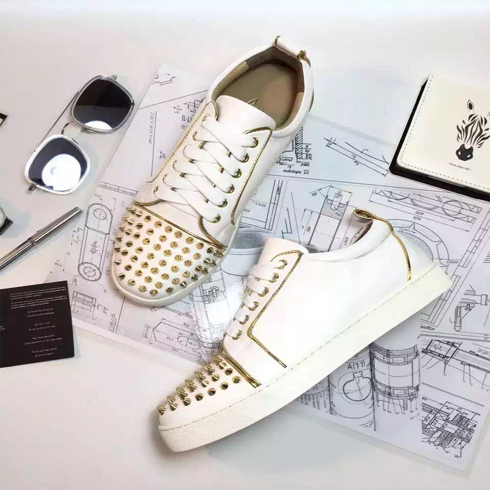d3da34e4ef60 Replica Christian Louboutin men s sneakers Wholesale - MyBizShare