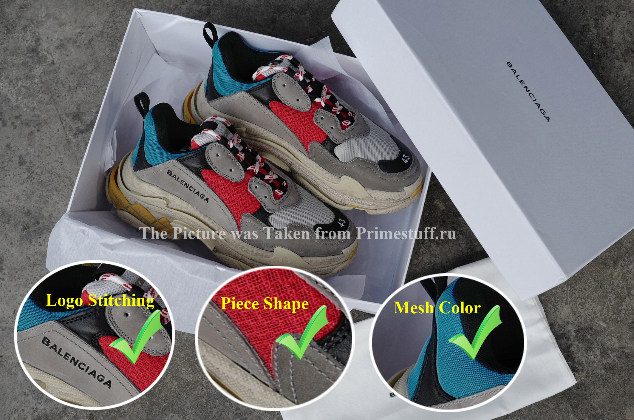 9021ea4eb551 Balenciaga Triple-S  How To Spot a Fake and Buying Strategies ...
