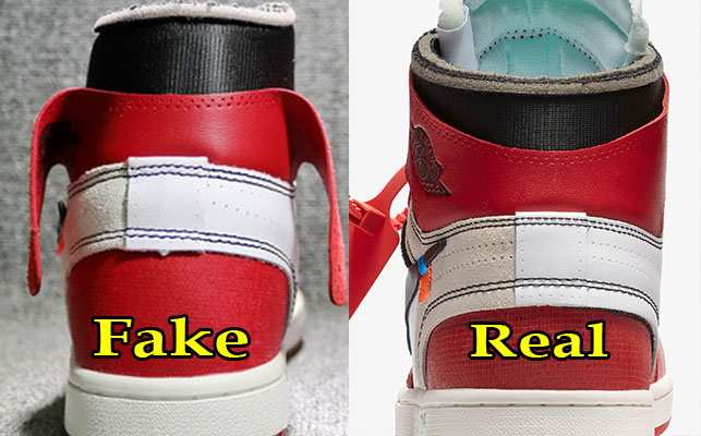 Next To Real Retro S Fake Retro S: Official Air Jordan 1 Off White Dots 5e0b7 E4e94