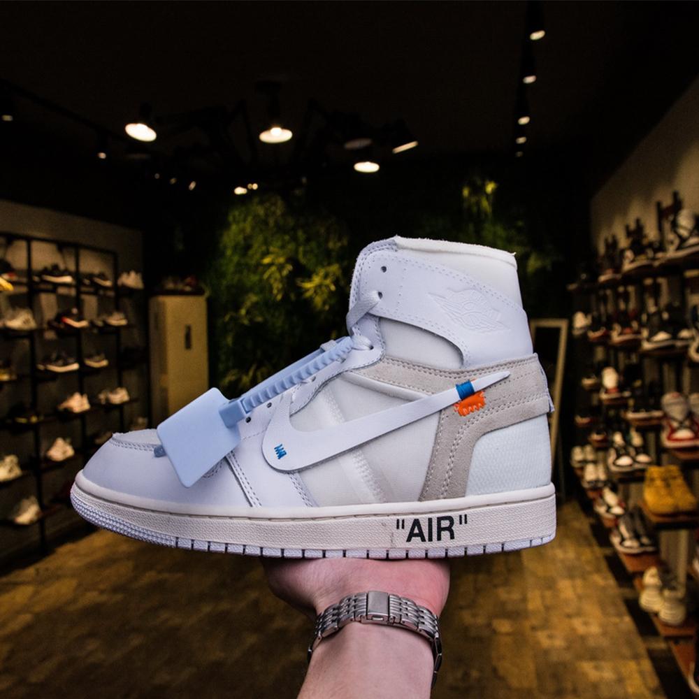 c671ef87406eca Replica Nike Off White Air Jordan 1 White Spot - MyBizShare