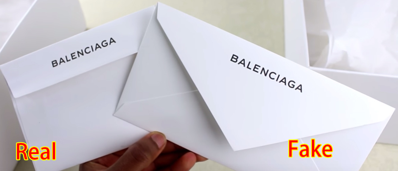 97881b02bb On the side of a Balenciaga Speed Trainer, you should find the BALENCIAGA  logo printed neatly (left), which should be identical to the official  Balenciaga ...