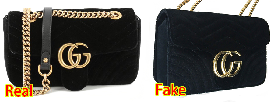 c9dec08b259 Continue to scroll down for detailed comparison pictures and description of  how to spot a real vs replica Gucci Crossbody bag