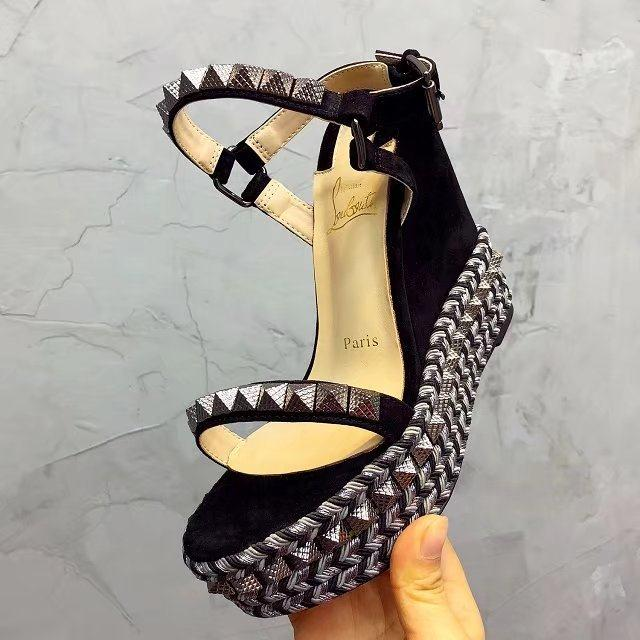 buy online 4d75e c9167 Replica & Fake Christian Louboutin Wedges Wholesale Guide ...