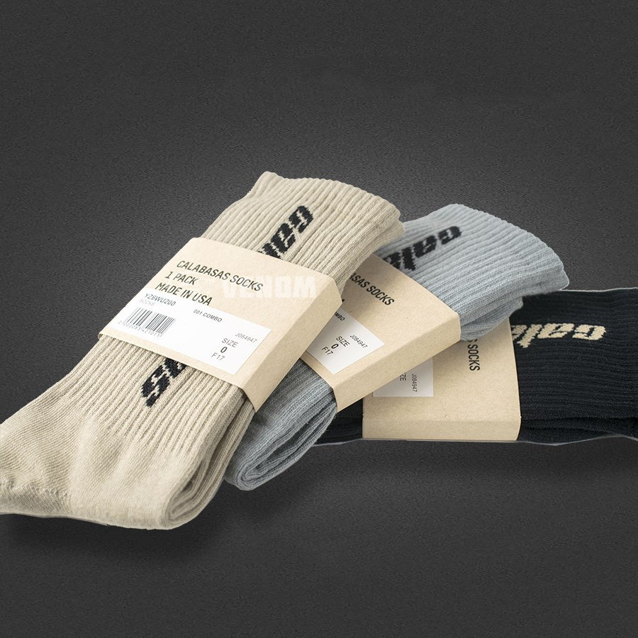 9d7cbe9ff0453 How To Buy Quality Yeezy Calabasas Socks Below  10 And Spot Guide ...
