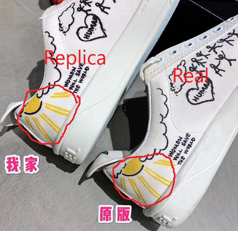 Chanel Sneakers Real vs high