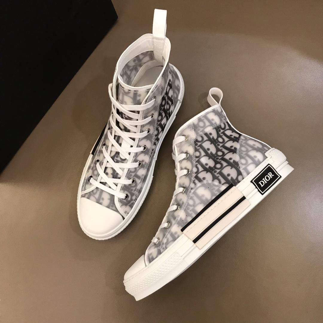 Dior Summer High Top Sneakers: Real vs