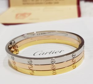 Authentic vs Fake Cartier Love Triangle Bracelets Review