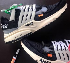 Off White x Nike Air Presto 1.0 Real vs High Quality Replica Comparison