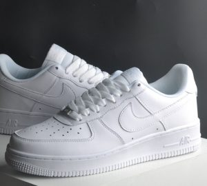 White Air Force Real vs High Quality Replica